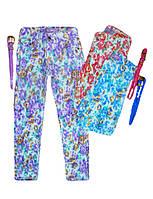 Брюки коттоновые для девочек, Nice Wear, размеры 110,арт. GC-1533