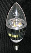 Лампа низковольтная светодиодная Свеча LS-3D 4W