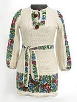 Платье для девочки Маки и васильки