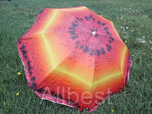 """Зонт пляжный, торговый угловой 200 см. """"Gansini"""""""