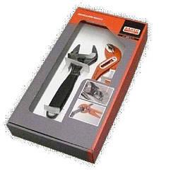 Набор BAHCO 224D-9031-T (переставные клещи+разводной ключ)