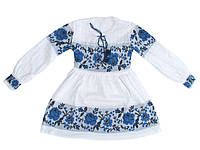 Платье для девочки 0804 (х/б)