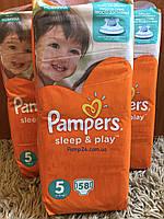 Подгузники Pampers Sleep & Play - 5 Junior (11 ― 18 кг.) 58 шт. (Jumbo Pack)