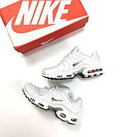 Кроссовки Nike Air Max TN+ All White мужские