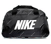 Спортивна чоловіча сумка чорного кольору репліка Nike (D-08)