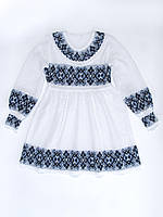 Платье для девочки 0810 (х/б)