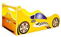 Кровать машина Такси, серия Форсаж, для детей и подростков, с бесплатной доставкой в Ваш город
