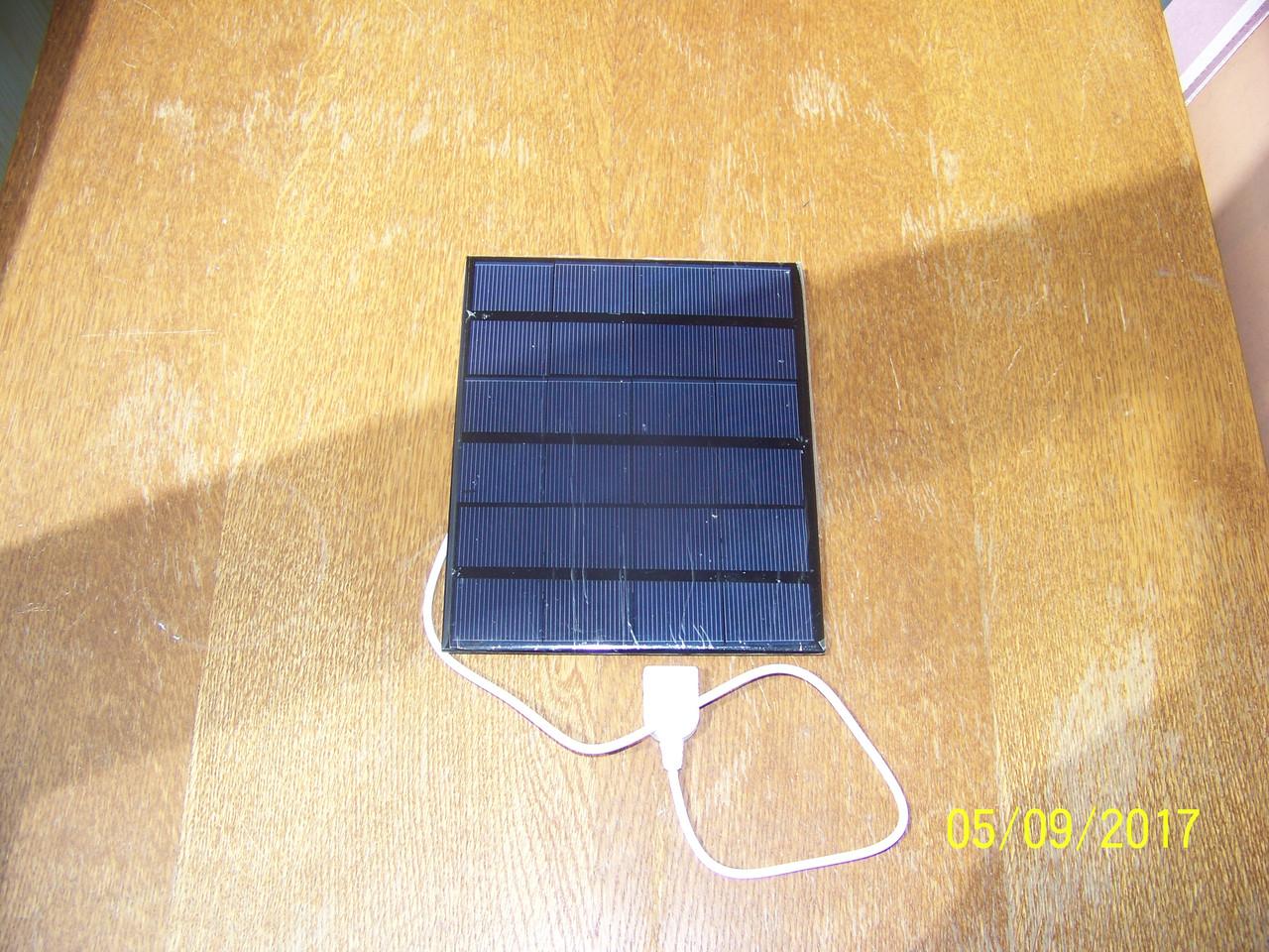 Сонячна панель 3,6 W з USB виходом