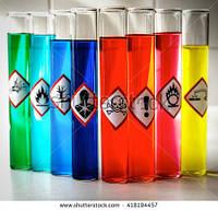 Химические отходы.