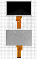 "Дисплей для планшета China-Tablet PC 7"", 7"", (800*480), (165*100 мм), шлейф 80 мм, 50 pin"