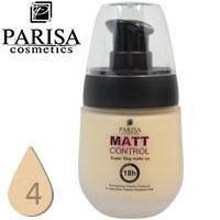 Тональный крем Parisa Matte Control матирующий стойкий Тон 04 Light Beige
