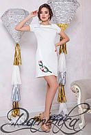 """Нарядное белое платье """"Mademoiselle"""" на выпускной"""