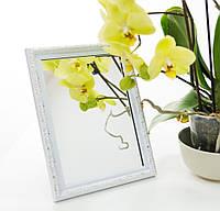 Зеркало в багете, зеркала настольные, зеркала настенные, зеркало с подставкой, 2116-13, фото 1