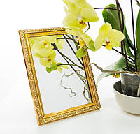 Зеркало в багете, зеркала настольные, зеркала настенные, зеркало с подставкой, 2116-47