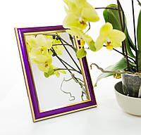 Зеркало в багете, зеркала настольные, зеркала настенные, зеркало с подставкой, 2313-37, фото 1