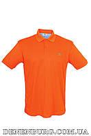 Футболка-поло мужская LACOSTE 1115 оранжевая