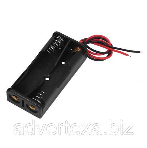 Батарейний відсік бокс кейс тримач на 2 AAA
