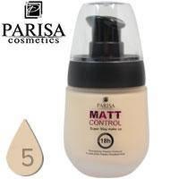 Тональный крем Parisa Matte Control матирующий стойкий Тон 05 Ivory