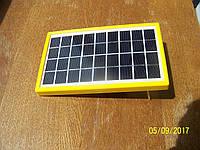 Солнечная панель SPM-3W 9V +5V USB