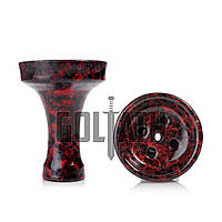 Чаша Goliath Bowl EQUIL, Red Black Marble