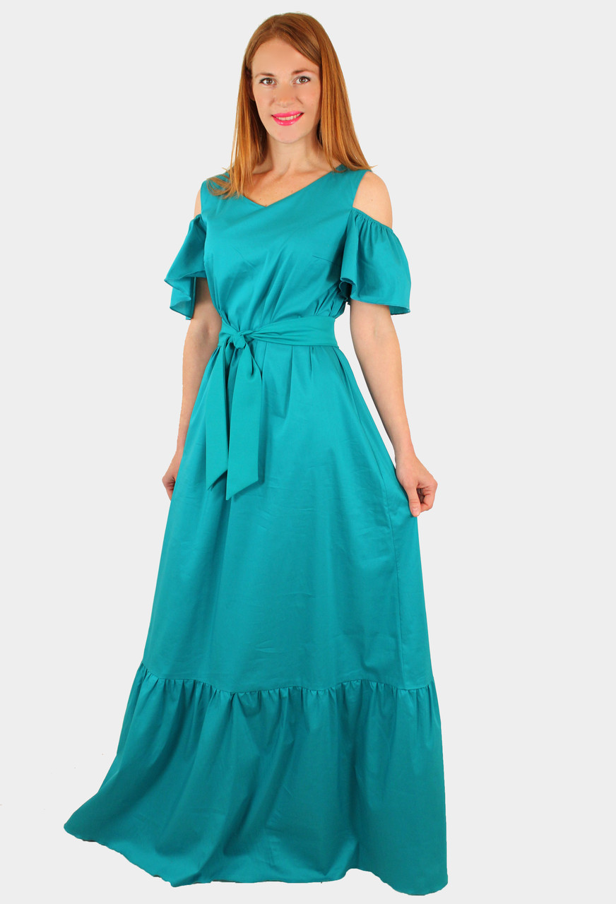Модное длинное платье 44-46 р
