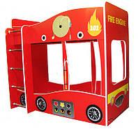 Двухъярусная кровать машина Пожарная 2 серия Форсаж для детей и подростков, с бесплатной доставкой в Ваш город