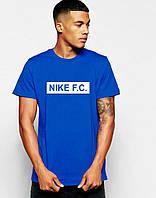 Мужская Футболка Nike F.C. синего цвета