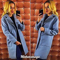 Женское кашемировое пальто с подкладкой
