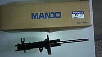 Амортизатор  Авео передний левый газ(c ABS) Mando (ориг.)