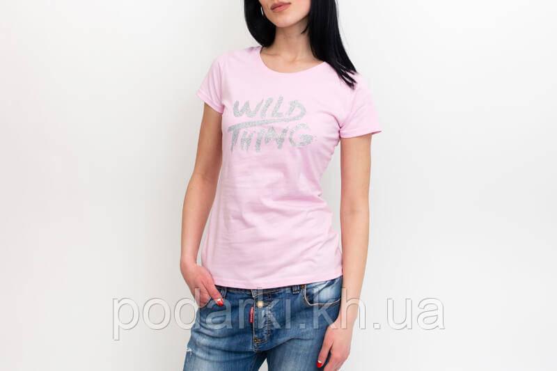 Приталенная футболка для девушки