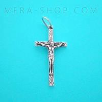 Крест нательный из серебра (кр-23)