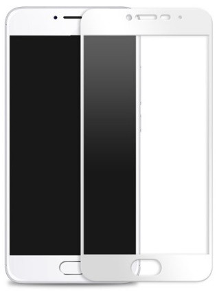 Защитное стекло для Meizu M5c цветное Full Screen