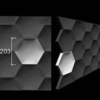 """3-D панели из гипса """"Сота"""""""