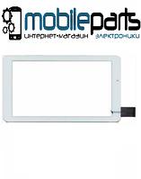 """Сенсор (Тачскрин) для планшета 7"""" Триколор ТВ GS700 (184x104 мм,30 pin) без выреза под динамик (Самоклейка)"""