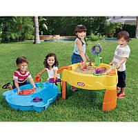 Стол-песочница с зоной для воды Little Tikes 637780М
