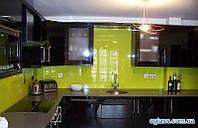 Кухонная стеклянная панель