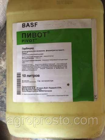 Гербицит Пивот (имазетапир, 100 г/л) Basf   тара 10л
