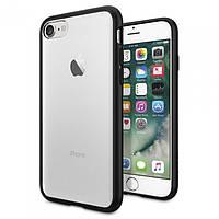 Накладка для Apple iPhone 7 пластик SGP Case Ultra Hybrid Черный (SGP-042CS20446)