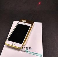Зажигалка подарочная Iphone-7 (спираль накаливания, usb)