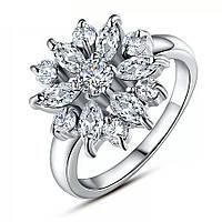 Кольцо покрытие серебро ювелирная бижутерия 536