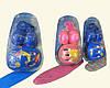 Детский комплект для катания на скейте и роликах: наколеники + шлем