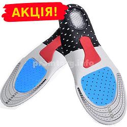 Ортопедичні устілки для взуття з антишокової захистом п'яти жіночі 35-40 розмір