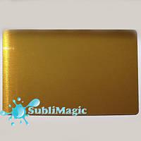 Металлическая визитка для сублимации 86*54 (0,32 мм) Золото