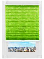Штора   плисе   Delfa 52x160 см салатовая