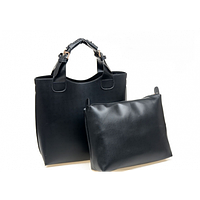 Отличный оригинальный набор. Стильная женская сумочка + клатч 2 в 1. Хорошее качество. Доступно. Код: КГ1185