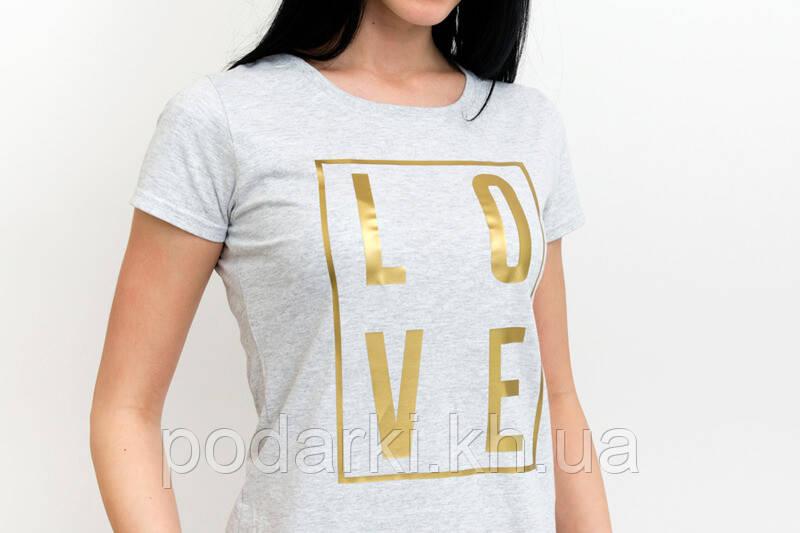 Оригінальна жіноча футболка з написом