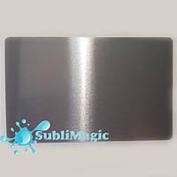 Металлическая визитка для сублимации 86*54 (0.32 мм) Серебро