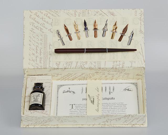 подарочный набор для каллиграфии