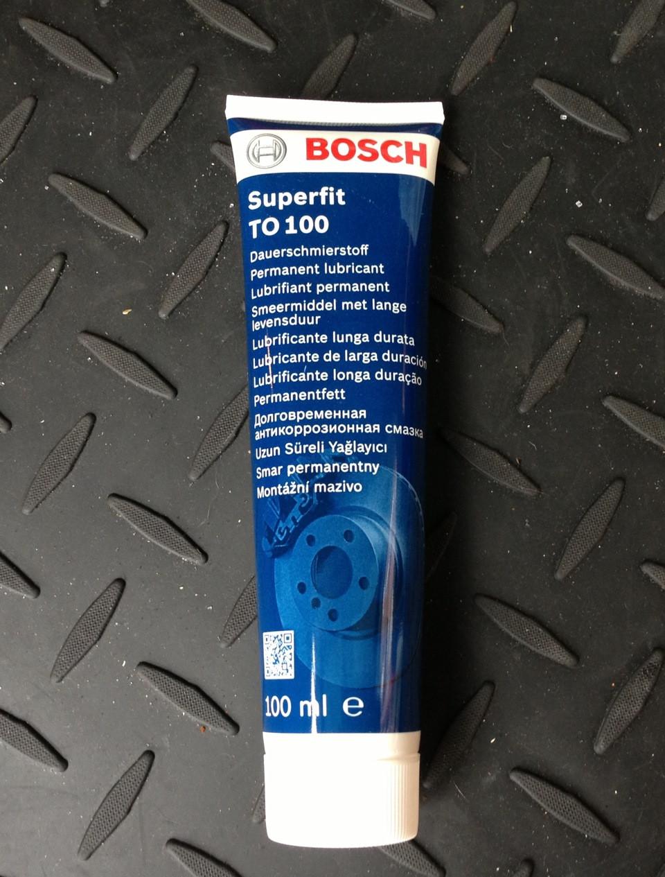 Panorama no Laos  Смазка для Тормозной Системы Bosch Superfit TO100 100мл. 5 000 000 150 — в  Категории