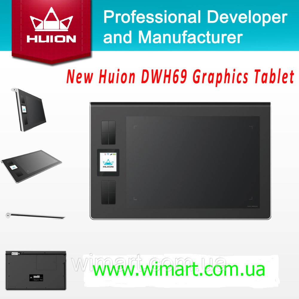 Графический планшет Huion DWH69. Беспроводный.